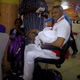 Yinka Ayefele & His Beautiful Wife Welcome New Baby.